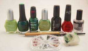 Ladybug nail art tutorial 8 300x174 Ladybug nail art tutorial 8