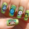 Disney Pixar Bugs Life Nail Art Manicure