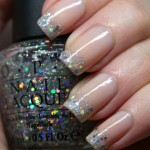 How to make glitter french manicure
