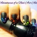 Dotted Rainbow Cheveron Nail Art Tutorial e1348268237420 150x150 International Nail Art Tutorial Contest Entries