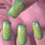 Green Border Dotted Nail Art Tutorial e1348267463238 150x150 International Nail Art Tutorial Contest Entries