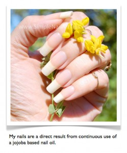 jojoba oil Ana Simple Nail Art Tips 249x300 Why Do Nails Peel and Split?