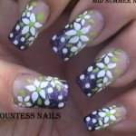 white flowers purple french nail art tutorial e1348266272850 150x150 International Nail Art Tutorial Contest Entries