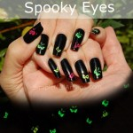 Halloween Nails Spooky Eyes Nail Art Tutorial e1351545089275 150x150 SIMPLE TUTORIAL: Halloween Nails   Spooky Eyes, Glow in the Dark