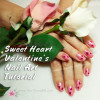 Pink-Nails For Valentines-Art-Tips-Tutorial
